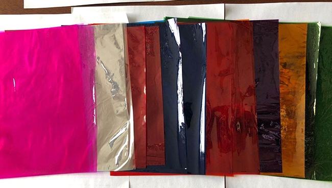 彩色玻璃纸